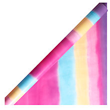 Buy John Lewis Ombre Pastel Gift Wrap, 3m Online at johnlewis.com