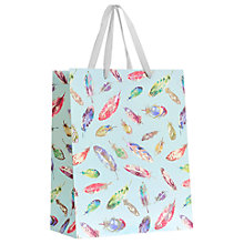 Buy John Lewis Feathers Medium Gift Bag, Multi Online at johnlewis.com