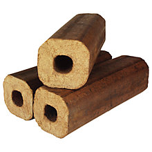Buy La Hacienda Heatblox Logs, Pack of 12 Online at johnlewis.com