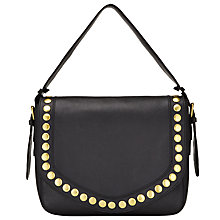Buy AND/OR Maya Leather Slouch Shoulder Bag Online at johnlewis.com