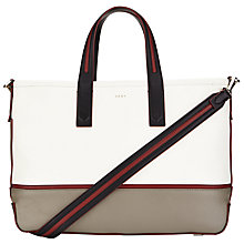 Buy DKNY Greenwich Leather Medium Tote Bag, Multi Online at johnlewis.com
