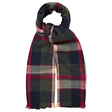 Buy Oasis Check Scarf, Multi Online at johnlewis.com