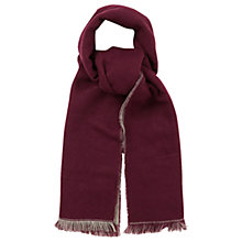 Buy Oasis  Double Faced Plain Scarf, Multi/Grey Online at johnlewis.com