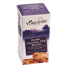 Buy The Yorkshire Deli Co. Double Chocolate Chip Biscuits, 150g Online at johnlewis.com