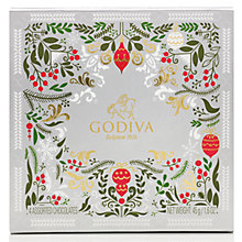 Buy Godiva Assorted Christmas Chocolate, 4 Piece, 45g Online at johnlewis.com