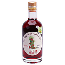 Buy The Little Red Berry Co. Blackberry Whisky Liqueur, 35cl Online at johnlewis.com