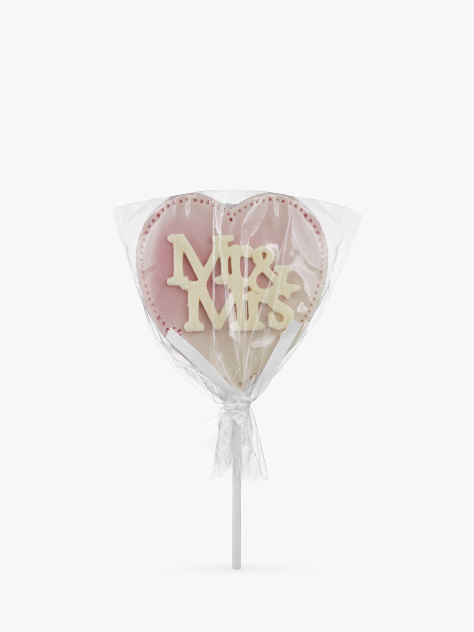 Choc on Choc Choc On Choc 'Mr & Mrs' White Chocolate Lolly, 55g