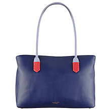 Buy Radley Gainsborough Large Leather Multi Tote Bag, Navy Online at johnlewis.com