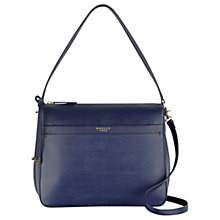 Buy Radley Addison Medium Zip-top Grab Bag, Midnight Blue Online at johnlewis.com