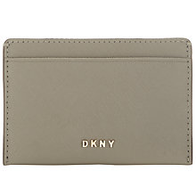 Buy DKNY Bryant Park Small Leather Card Holder Online at johnlewis.com