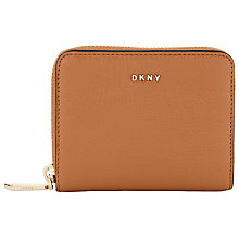 Buy DKNY Chelsea Vintage Small Leather Purse, Copper Online at johnlewis.com