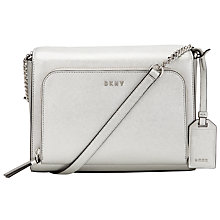 Buy DKNY Bryant Park Saffiano Leather Medium Pocket Across Body Bag Online at johnlewis.com