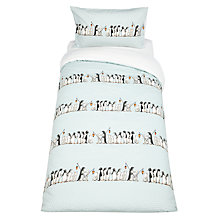 Buy Emma Bridgewater Chatty Penguin Duvet Cover and Pillowcase Set, Single Online at johnlewis.com
