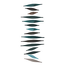 Buy Livingly Density Mobile Sculpture, Green Online at johnlewis.com