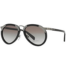 Buy Prada PR 01TS Aviator Sunglasses Online at johnlewis.com
