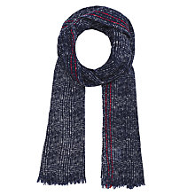 Buy Gerard Darel Preppy Scarf, Blue Online at johnlewis.com