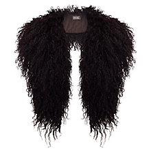 Buy Phase Eight Mongolian Wool Collar, Port Online at johnlewis.com
