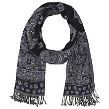 Buy Gerard Darel Camden Scarf, Navy Blue Online at johnlewis.com
