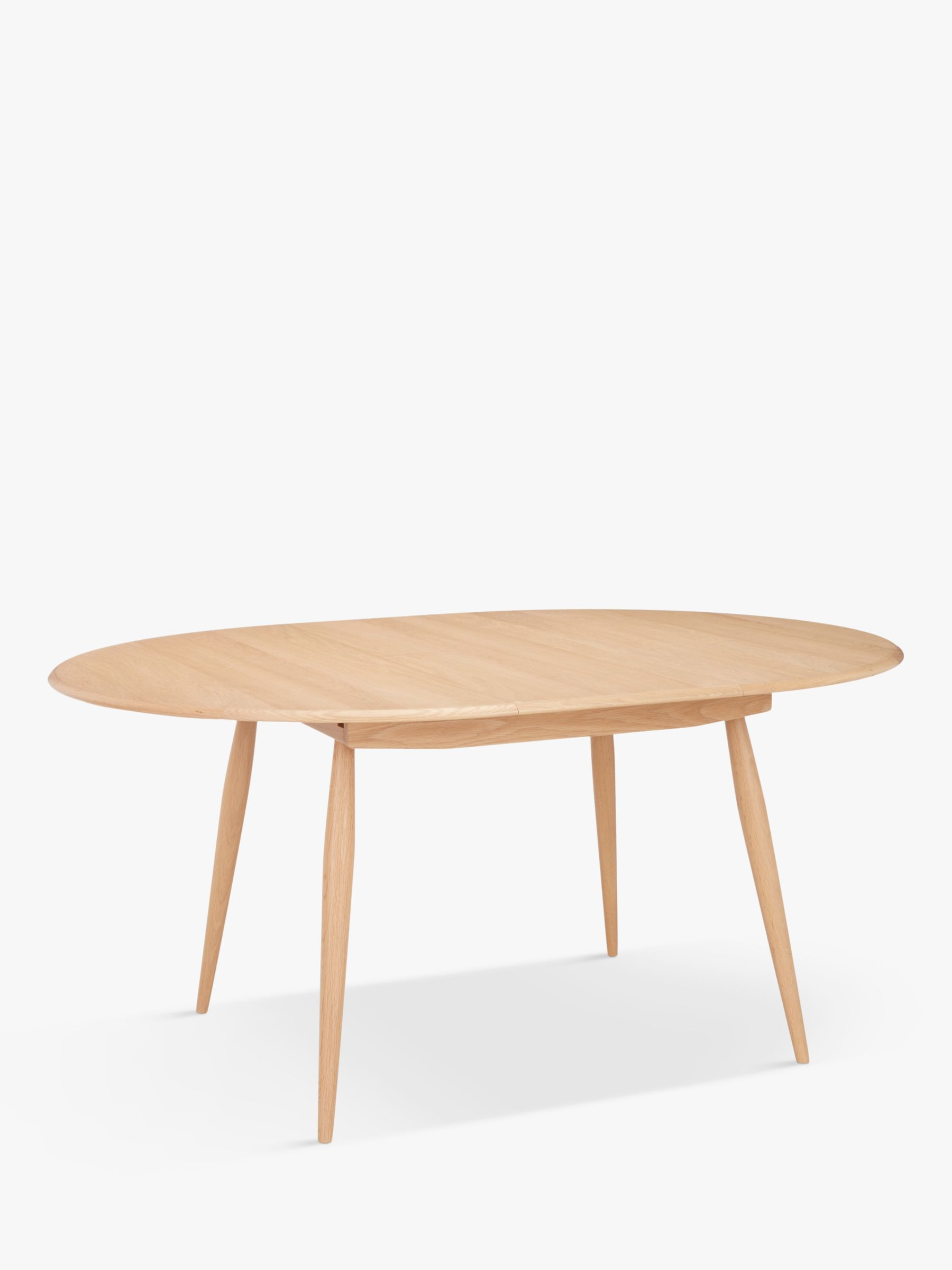 ercol for John Lewis ercol for John Lewis Shalstone Round Extending Dining Table