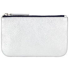 Buy John Lewis Contrast Leather Coin Purse Online at johnlewis.com
