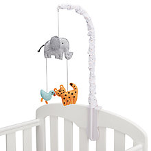 Buy John Lewis Baby Zoo Animals Mobile Online at johnlewis.com
