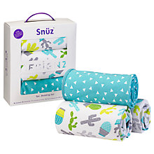 Buy Snüz Snuzpod Baby Rootin' Tootin' 3 Piece Bed Set Online at johnlewis.com
