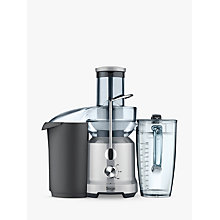 Buy Sage by Heston Blumenthal BJE430SIL the Nutri Juicer Cold, Silver Online at johnlewis.com