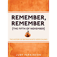 Buy Remember Remember The History Of Britain Book Online at johnlewis.com
