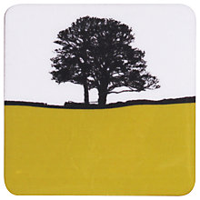 Buy The Art Rooms Harrogate Coaster, Lime Green Online at johnlewis.com