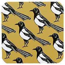 Buy Martha and Hepsie Mischievous Magpie Coasters, Set of 4 Online at johnlewis.com