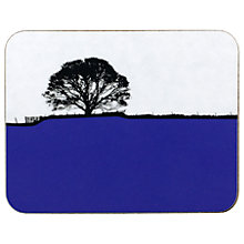 Buy The Art Rooms Dales Grassington Coaster, Blue Online at johnlewis.com