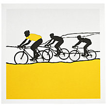 Buy The Art Rooms Jersey Yellow Greeting Card Online at johnlewis.com