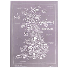 Buy JollySmith Delicious Map of Britain A3 Print Online at johnlewis.com