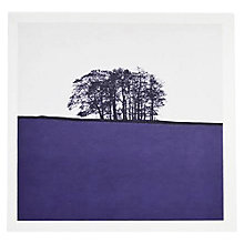 Buy The Art Rooms Yorkshire Landscape Greeting Card, Purple Online at johnlewis.com