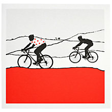 Buy The Art Rooms Polka Dot Jersey Greeting Card Online at johnlewis.com