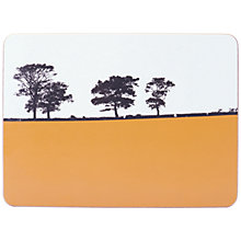 Buy The Art Rooms Ilkley Landscape Tablemat, Orange Online at johnlewis.com