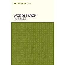 Buy Bletchley Park Wordsearch Puzzles Online at johnlewis.com