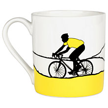 Buy The Art Rooms Jersey Mug, Yellow Online at johnlewis.com