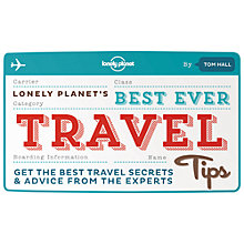Buy Lonely Planet Best Ever Travel Tips Online at johnlewis.com