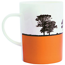 Buy The Art Rooms Ilkley Landscape Mug, Orange Online at johnlewis.com