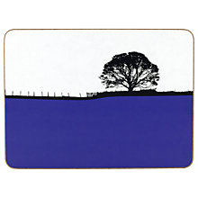 Buy The Art Rooms Dales Grassington Tablemat, Blue Online at johnlewis.com