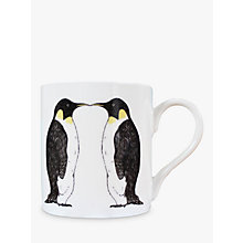 Buy Martha and Hepsie Penguin Mug, White Online at johnlewis.com