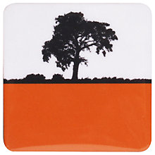 Buy The Art Rooms Ilkley Landscape Coaster, Orange Online at johnlewis.com