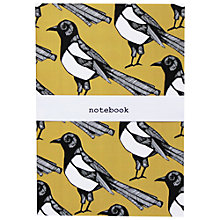 Buy Martha and Hepsie Mischievous Magpie A5 Notebook Online at johnlewis.com