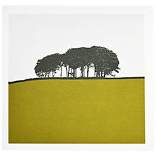 Buy The Art Rooms Yorkshire Landscape Greeting Card, Green Online at johnlewis.com