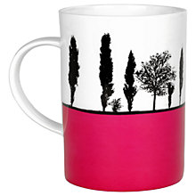 Buy The Art Rooms Leeds Armley Mug, Pink Online at johnlewis.com