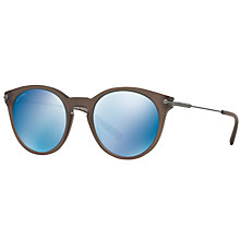 Buy Bvlgari BV7030 Oval Sunglasses Online at johnlewis.com