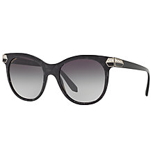 Buy Bvlgari BV8185B Oval Sunglasses Online at johnlewis.com
