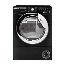 Buy Hoover AquaVision DNC D813BB-80 Tumble Dryer, 8kg Load, B Energy Rating, Black Online at johnlewis.com