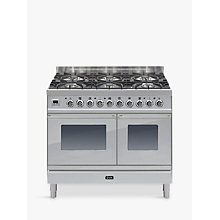 Buy ILVE PDW1006E3 Roma Dual Fuel Freestanding Range Cooker Online at johnlewis.com